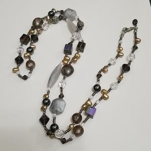 Cookie lee eclectic beaded necklace